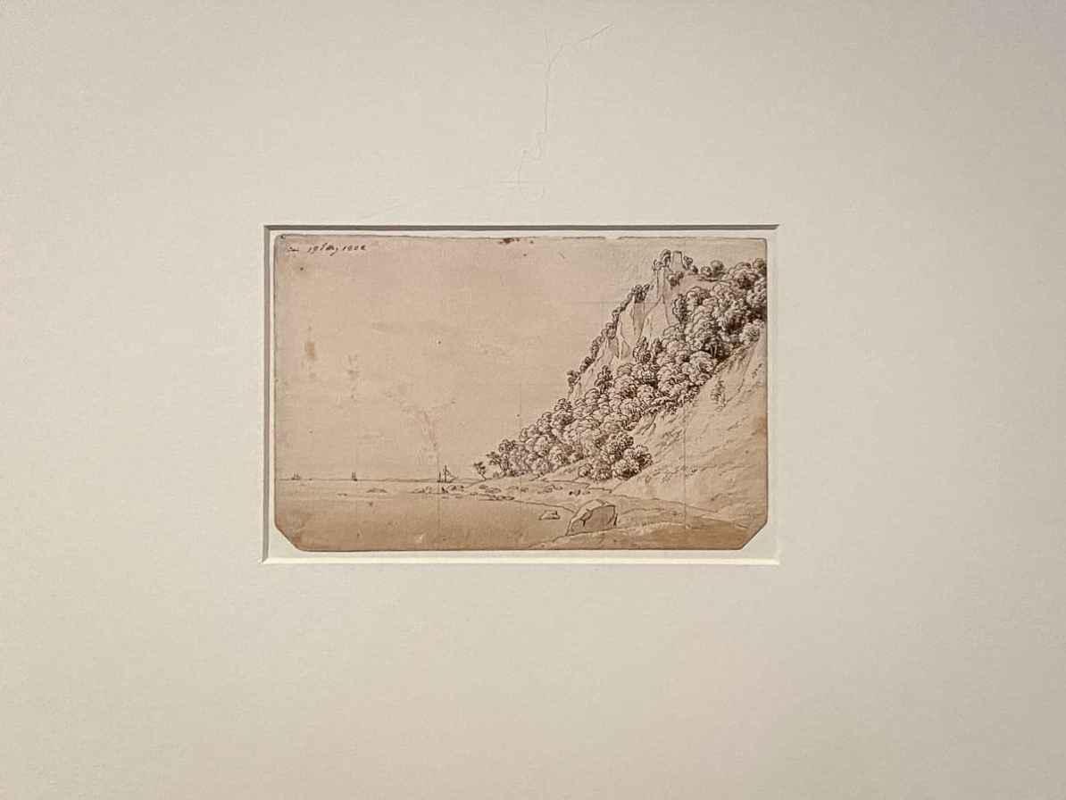 Skizze Caspar David Friedrich - Klein Stubbenkammer, 19. Mai 1802, Museum der bildenden Künste Leipzig
