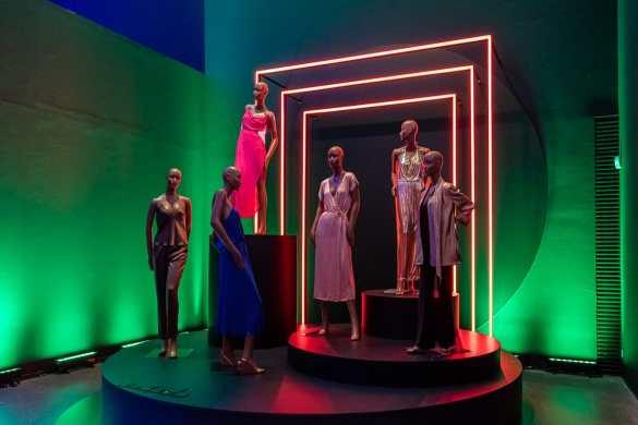 Mode im Studio 54 - Ausstellung im Dortmunder U
