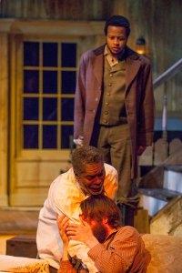 J. Samuel Davis, Austin Pierce and Gregory Fenner Photo by John Lamb New Jewish Theatre