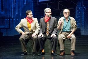 Dave Cooperstein, Craig Neuman, Bobby Miller Photo by John Lamb New Jewish Theatre