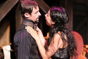 Todd Schaefer, Cherlynn Alvarez Photo by Jill Ritter Lindberg New Line Theatre