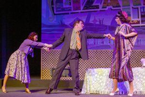 Sarajne Alverson, Stephen Peirick, Michael Baird Photo by John Lamb Stray Dog Theatre