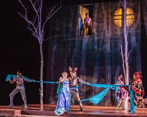 Cast of A Midsummer Night's Dream Photo by David Levy Shakespeare Festival St. Louis