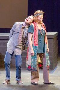 Spencer Davis Milford, Jenni Ryan Photo by John Lamb Insight Theatre Company