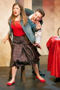 Bridgette Bassa, Ryan Foizey Photo by John Lamb St. Louis Actors' Studio