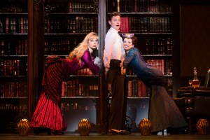 Kristen Beth Williams, Kevin Massey, Adrienne Eller Photo by Joan Marcus A Gentleman's Guide to Love and Murder National Tour
