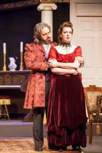 Ben Ritchie, Nicole Angeli Photo by John Lamb Stray Dog Theatre
