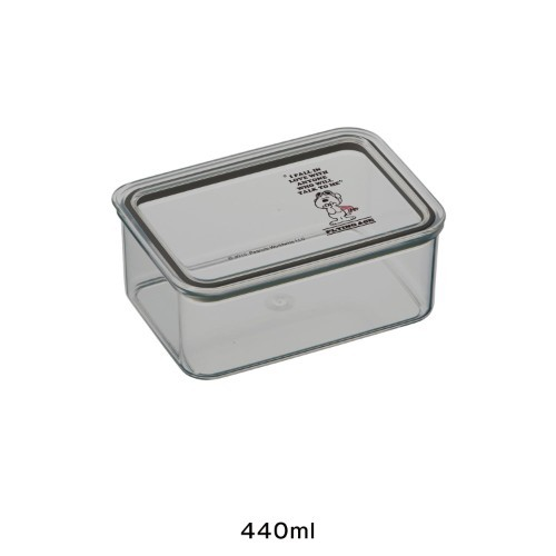 スヌーピー 食品保存ケース 440ml
