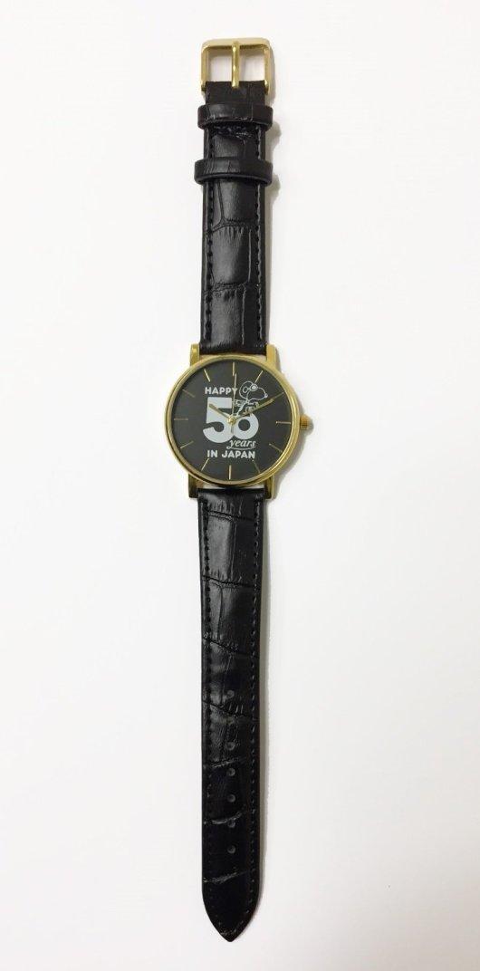 SNOOPY 本革腕時計 BOOK