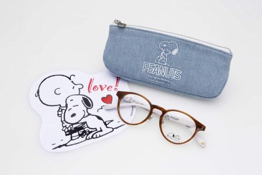 スヌーピ 眼鏡市場 コラボ2