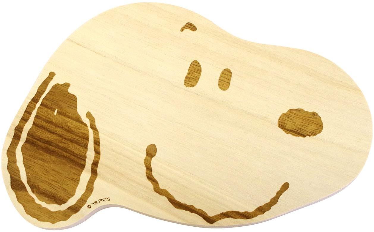 スヌーピーの木製カッティングボード