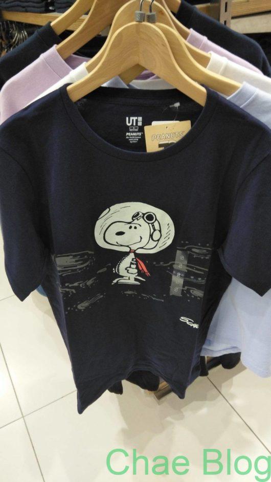 スヌーピーとユニクロコラボTシャツ2020