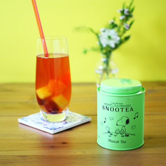 スヌーピーの紅茶「スヌーティー」✿マスカットとオレンジティ