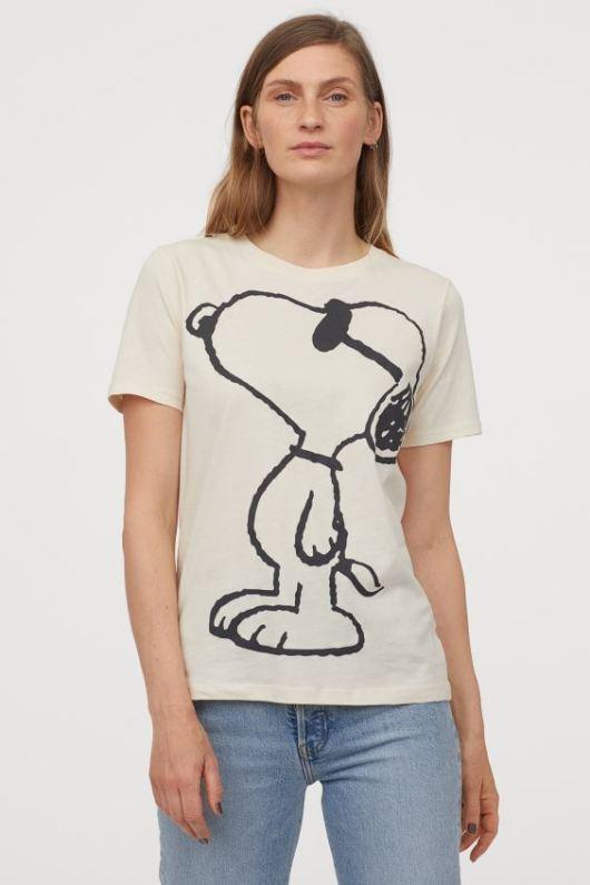 スヌーピーとH&MコラボのTシャツなど