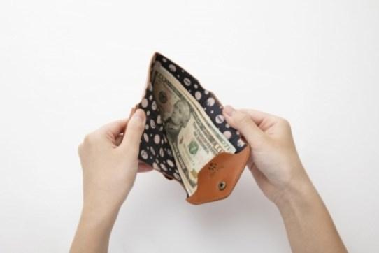 ローソンとHMV限定スヌーピーの三つ折り財布