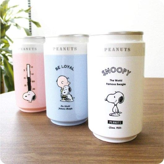 スヌーピーの缶ジュース型加湿器