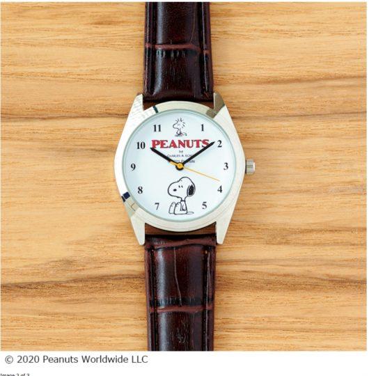 スヌーピーの腕時計が付録・雑誌スプリング2021年3月号増刊