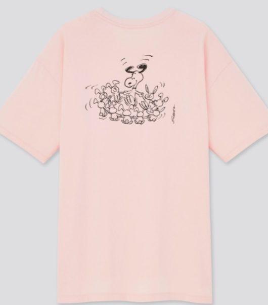 2021年3月下旬発売スヌーピー×ユニクロコラボTシャツ