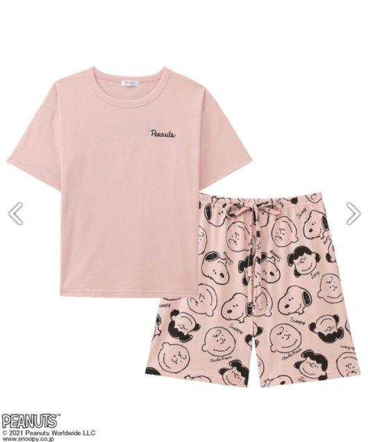 スヌーピーとエメフィールコラボのパジャマ2021夏