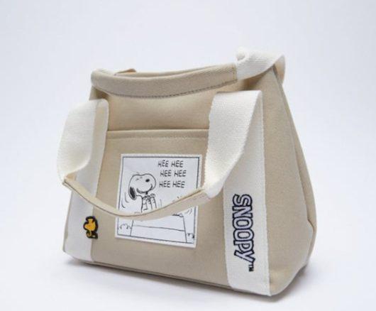 スヌーピー×ZARAのコラボのバッグ&スニーカー