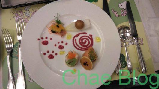 帝国ホテル「料理長スヌーピーのレストランプラン」