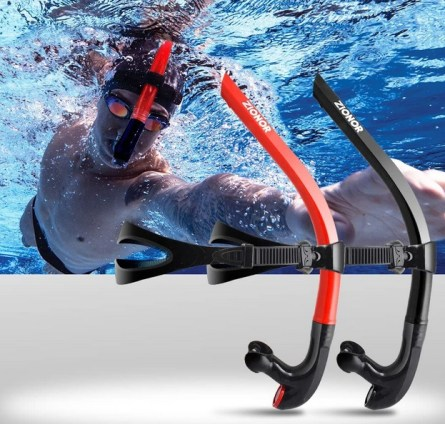 Swimmers Snorkel position