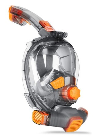 Ranersports Second Generation GoPro Compatible Full face Snorkel mask