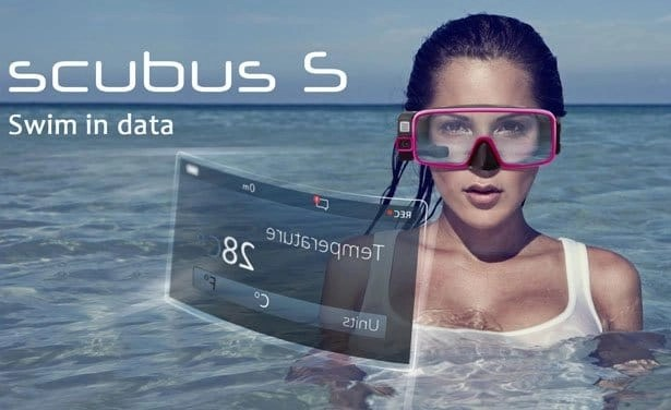 scubus-S -smart-diving-mask