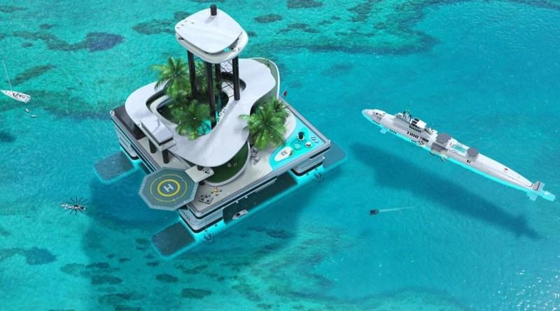 Floating Island Kokomo - Penthouse on the water