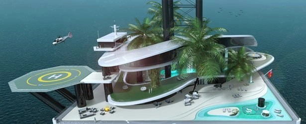 floating island migaloo 2