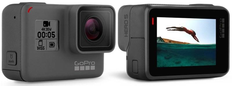 gopro hero 5 black - waterproof snorkeling action cam