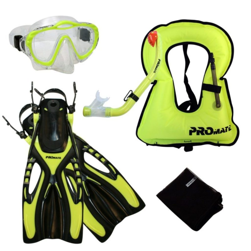 Proamte Kids snorkeling set with snorkel vest