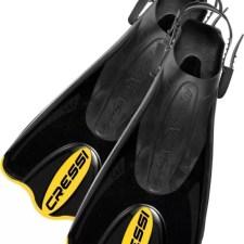 Cressi Short Blade Travel Snorkel Fins