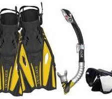 Body Glove Vapor Adult Snorkel Set