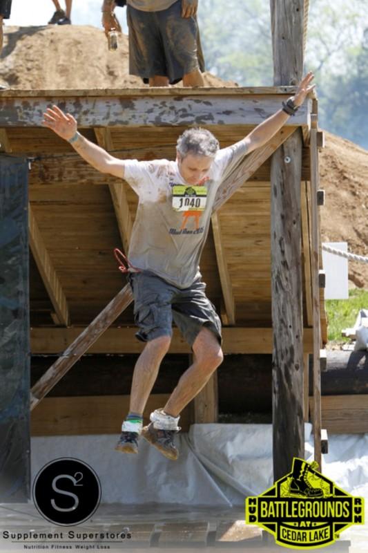 Dan Pavel coming down the 15 foot drop!