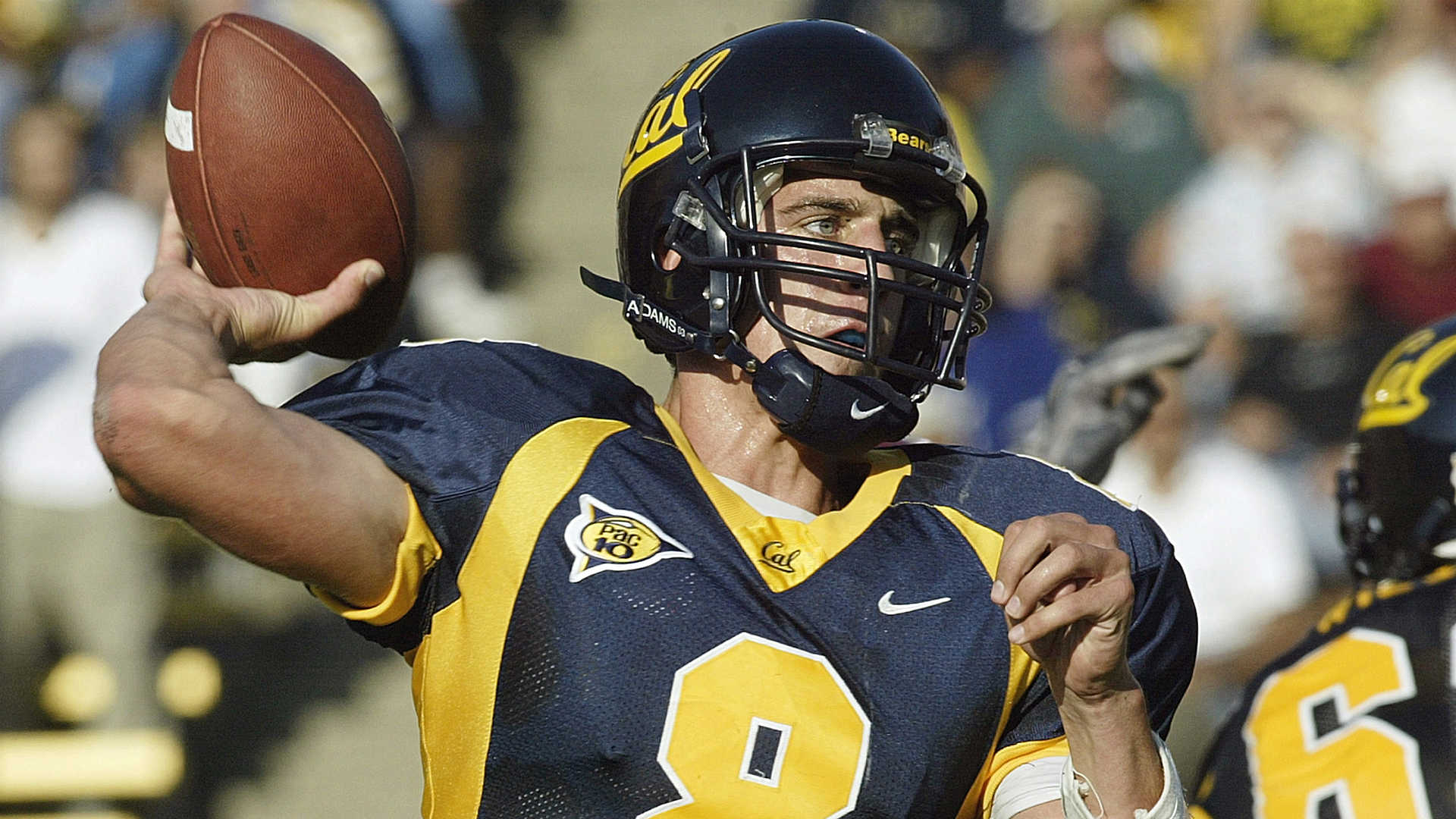 new styles 1c5a1 cb5f0 Aaron Rodgers Drops a Bag For Cal Football — SnoTapWI