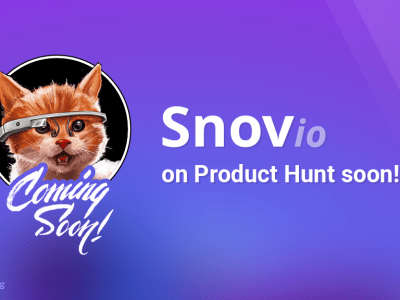 See Snov.io on Product Hunt Soon