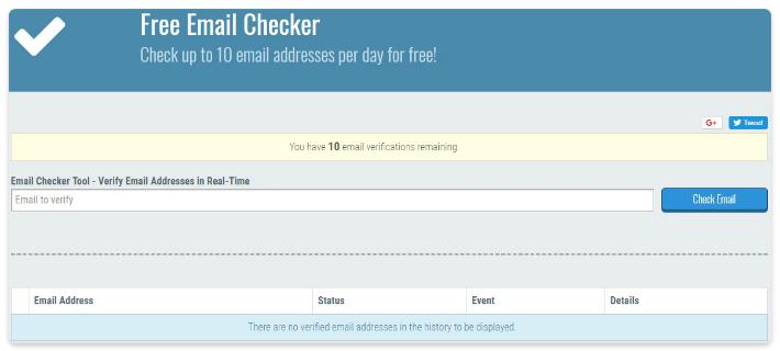 email verifier extension