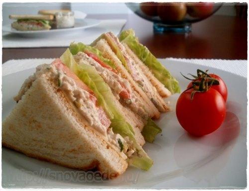 сэндвичи в домашних условиях