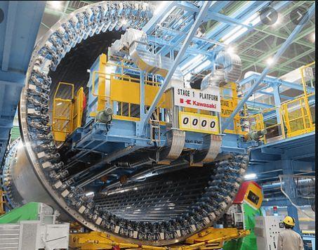 航空機エンジンの写真