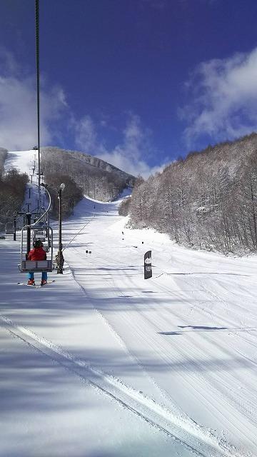 裏磐梯猫魔スキー場(快晴)
