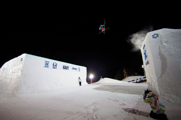 Russ Henshaw X Games Big Air 2010