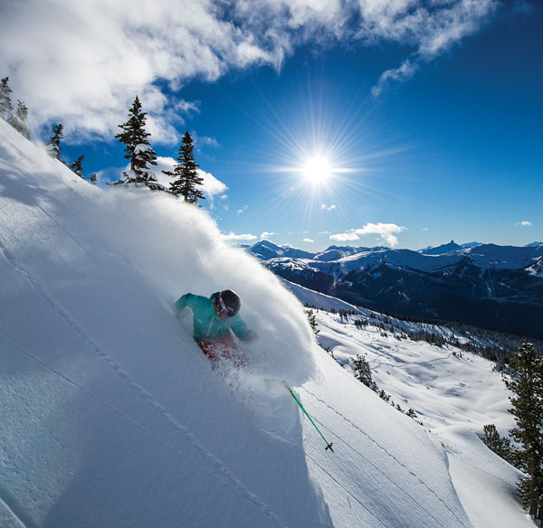 why do we love skiiing so much? © eric berger / whistler blackcomb