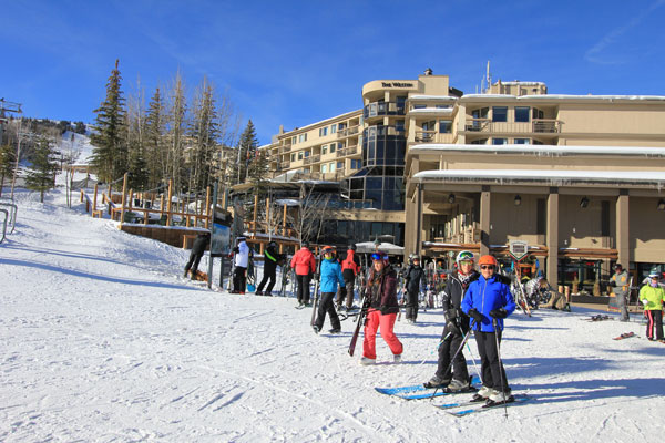 Ski in/ski out doesn't get easier than from the Westin Snowmass