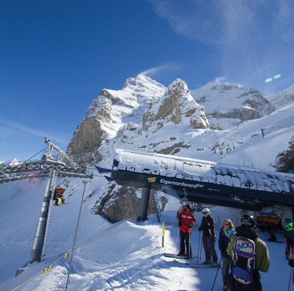 Eiger Nordwand 6er lift Grindelwald