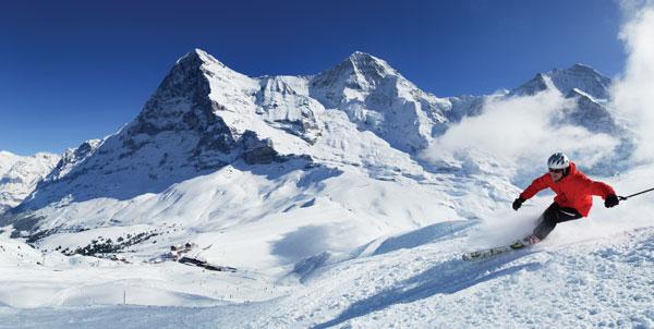skiing Grindelwald