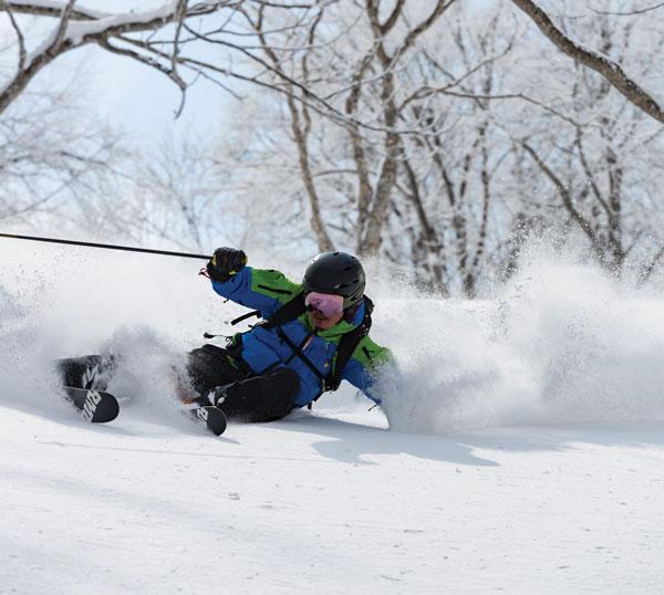 Madarao Tangram skiing