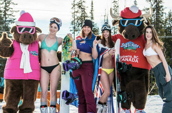 Australia Day at Big White