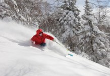 Riki Japow Guide skiing Grandeco