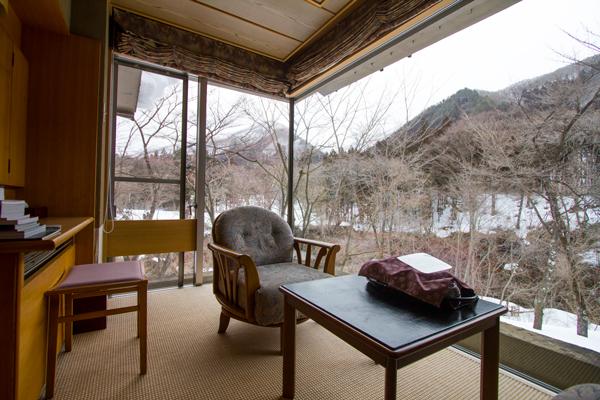 western style room at Bettai Senjuan